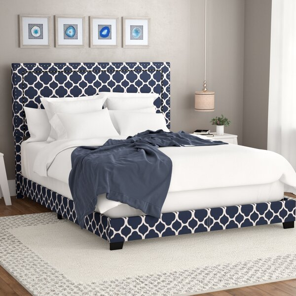 Crichton Upholstered Standard Bed by Wrought Studio
