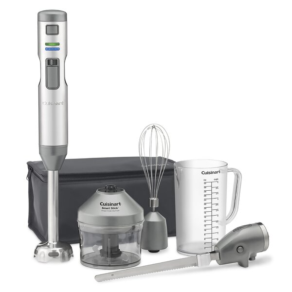 Smart Stick 5 Piece Cordless Hand Blender Set by Cuisinart