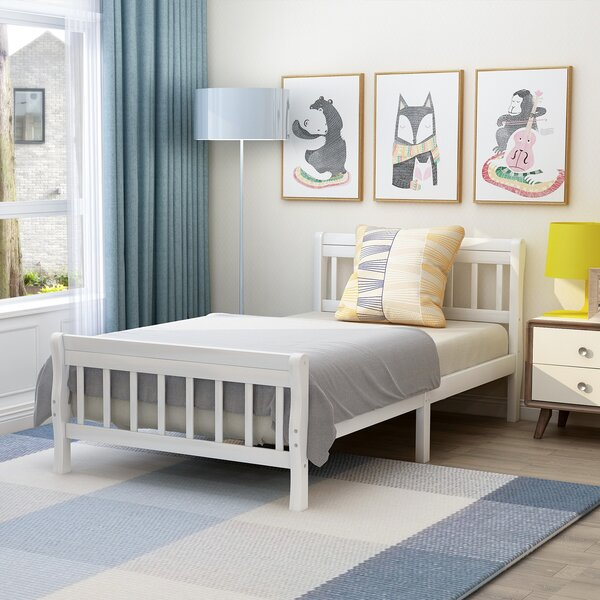 Wadsworth Twin Platform Bed by Harriet Bee