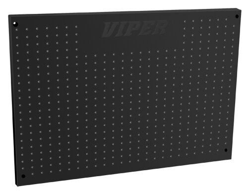 Black Steel Pegboard By Viper Tool Storage.