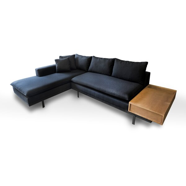 Haley Sectional by 17 Stories