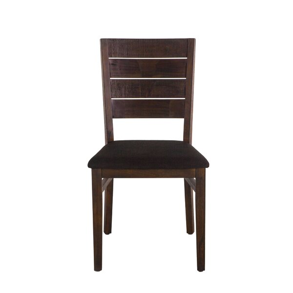 Alley Solid Wood Dining Chair (Set of 2) by Union Rustic