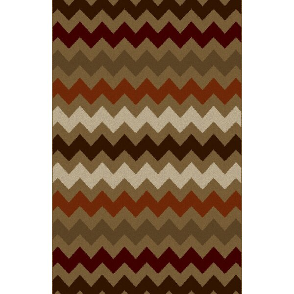 Cam Gray/Brown Area Rug by Latitude Run
