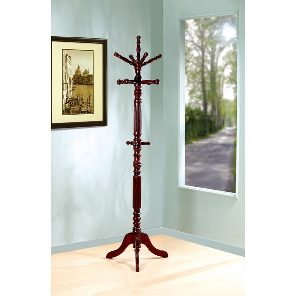 Rutkowski Old-Style Wooden Coat Rack by Astoria Grand