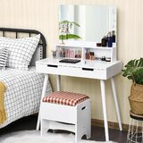 Small Bedroom Vanities You\'ll Love in 2020 | Wayfair