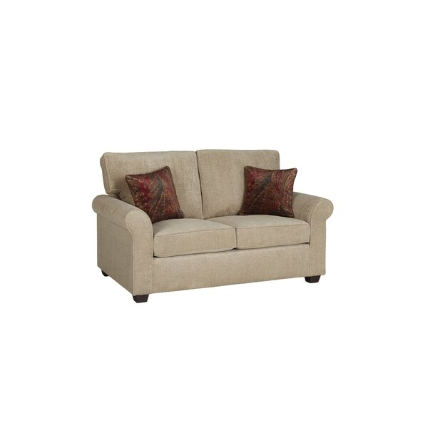 Specht 63'' Rolled Arm Loveseat By Darby Home Co