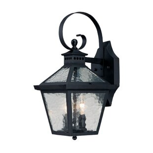 Price comparison Britton 2-Light Outdoor Wall Lantern By Darby Home Co