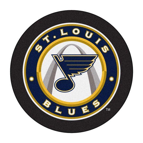 NHL - St. Louis Blues Puck Doormat by FANMATS