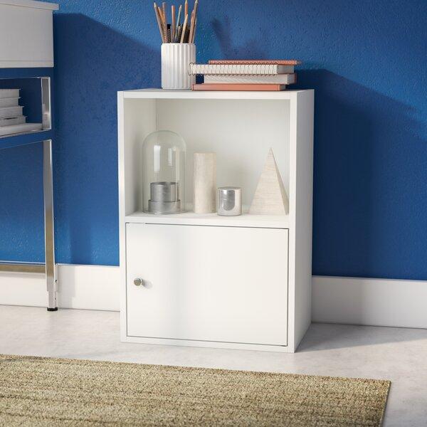 Aptos 1 Door Accent Cabinet by Ebern Designs