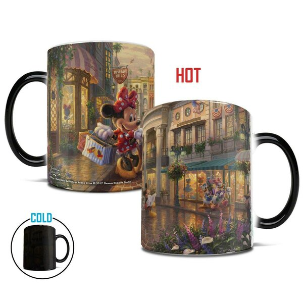 Minnie Rocks the Dots on Rodeo Drive Coffee Mug by Morphing Mugs