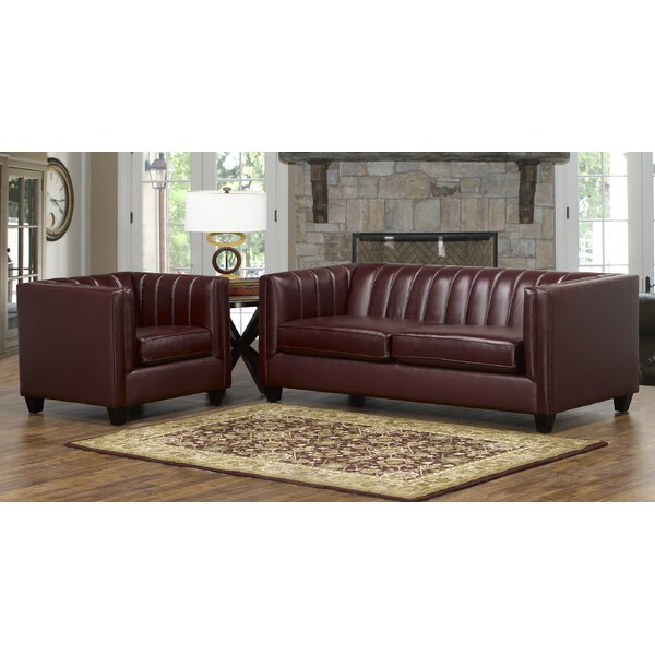 Modern Beautiful Telfair 2 Piece Living Room Set by Foundry Select by Foundry Select
