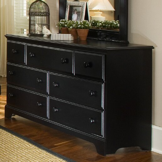 Midnight 7 Drawer Dresser by Carolina Furniture Works, Inc.