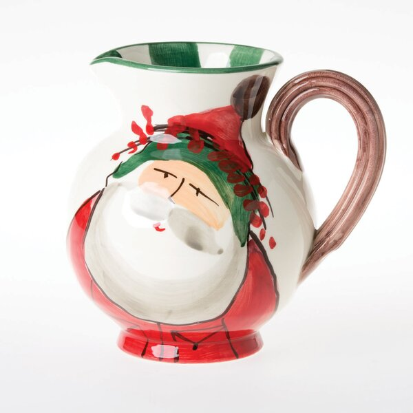 Old St Nick 32 Oz. Pitcher by VIETRI