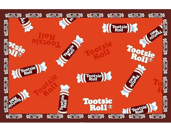 Tootsie Roll Candy Area Rug by Fun Rugs