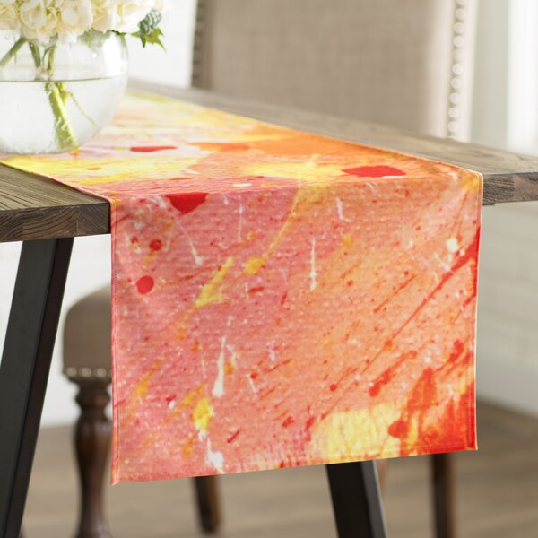 CarolLynn Tice Splash Table Runner by East Urban Home