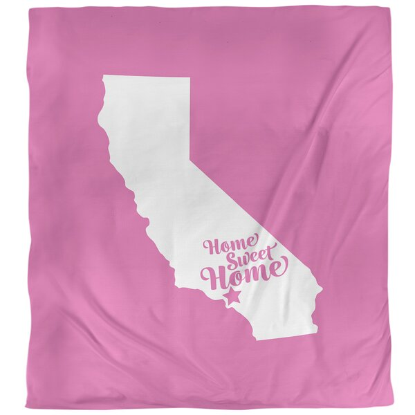 Home Sweet Los Angeles Duvet Cover
