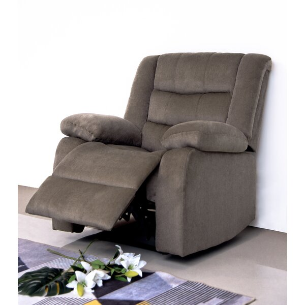 Haskins 3-Way Leather Manual Recliner W000678076