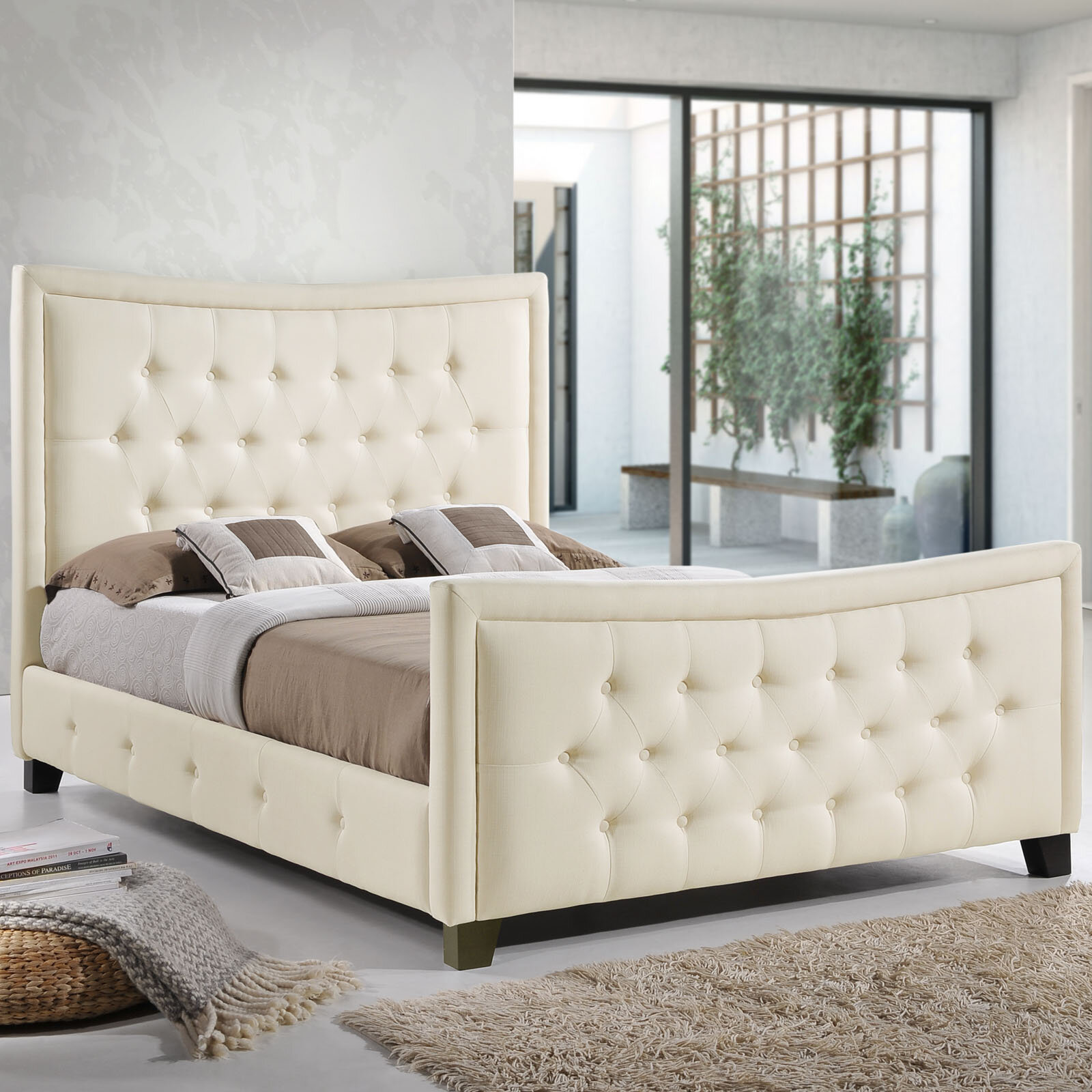 Modway Queen Upholstered Storage Platform Bed Wayfair Ca