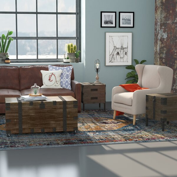 Claude 3 Piece Coffee Table  Set By 17 Stories