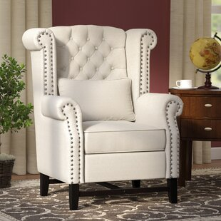 Porter Wingback Chair by Three Posts