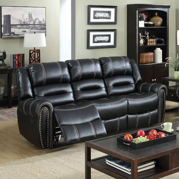 Excellent Brands Laura Reclining Sofa by Red Barrel Studio by Red Barrel Studio