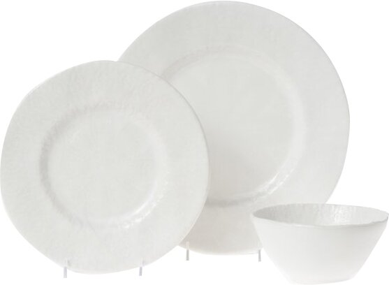 Lace 3 Piece Place Setting Set, Service for 1 by Viva by Vietri