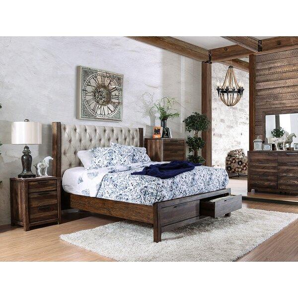 Geismar Upholstered Storage Platform Bed by Gracie Oaks