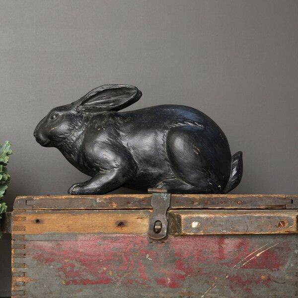 Englund Resin Rabbit Figurine by Charlton Home