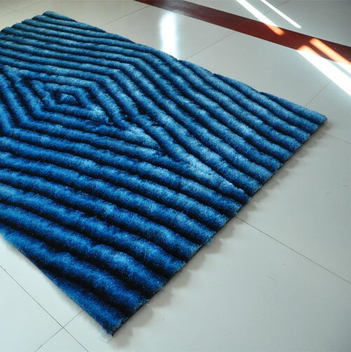 Blue Area Rug by Rug Tycoon