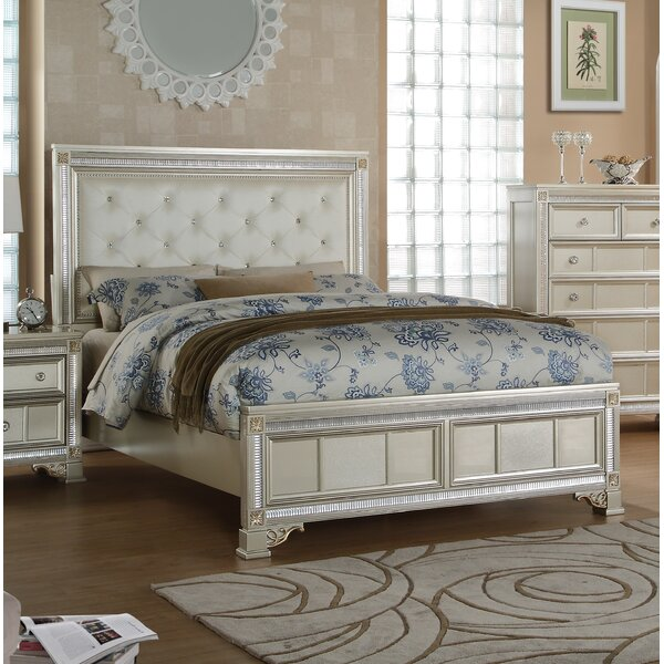 Chumbley Upholstered Panel Bed by House of Hampton