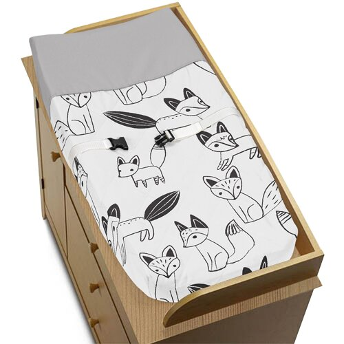Fox Changing Pad Cover by Sweet Jojo Designs