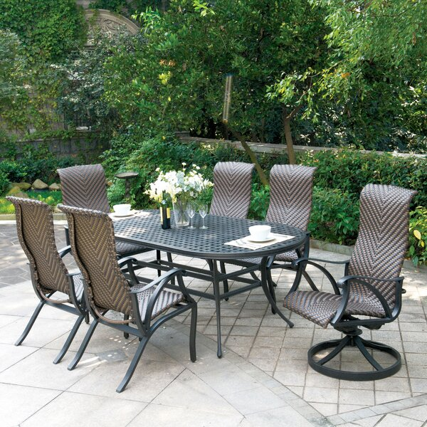 Kipling 7 Piece Dining Set by Darby Home Co