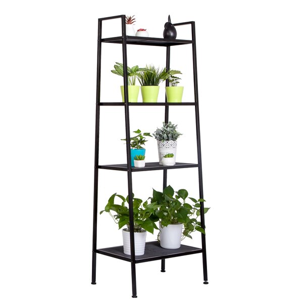 Brightside Widen 4 Tiers Ladder Bookcase By Latitude Run