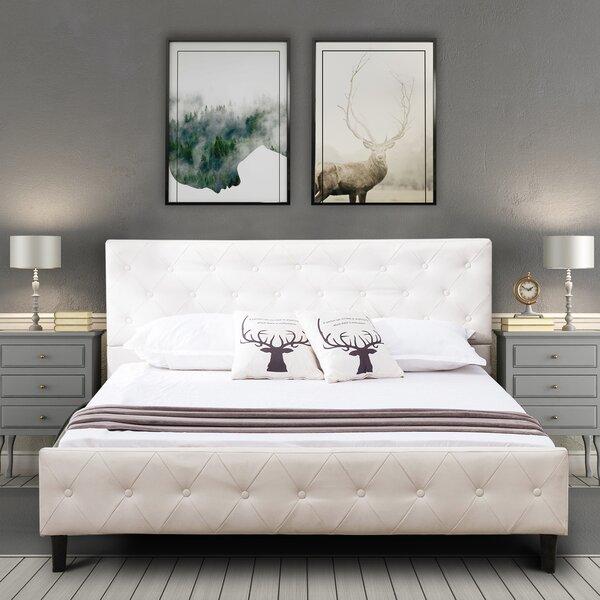 Stroude Upholstered Platform Bed by Gracie Oaks
