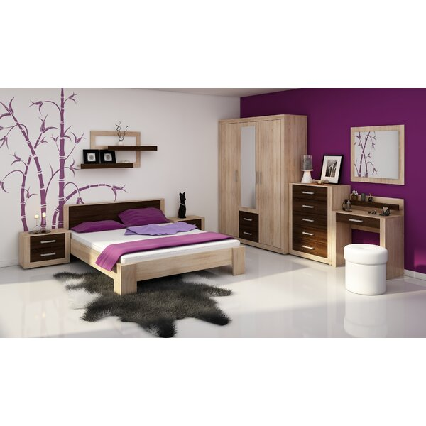 Suffield Queen Platform Bed with Mattress by Ebern Designs