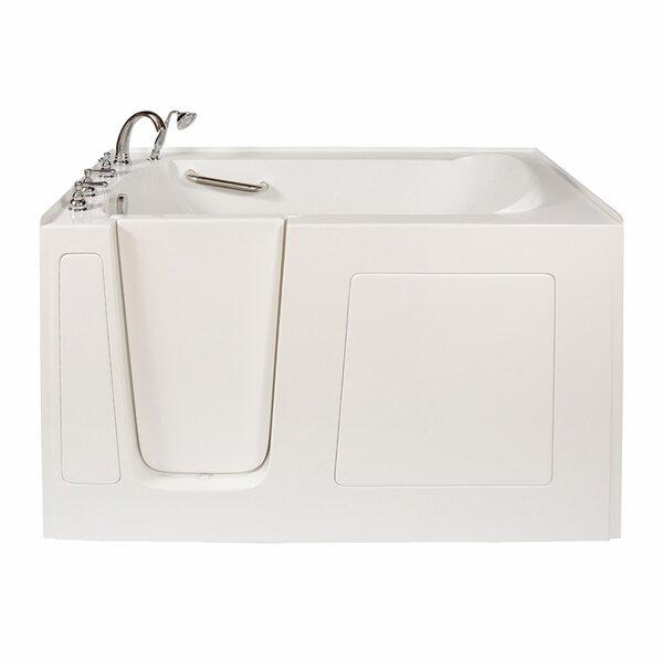 Long 60 x 38 Whirlpool Walk In Tub by Ella Walk In Baths