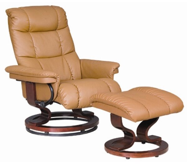 Key West Manual Swivel Lift Assist Recliner with Ottoman by Therapedic