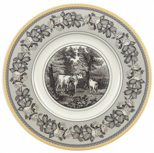Audun Ferme 6.25 Bread and Butter plate by Villero
