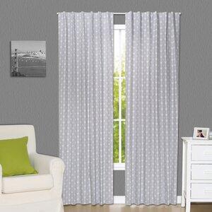 Arrow Geometric Blackout Rod Pocket Curtain Panels (Set of 2)