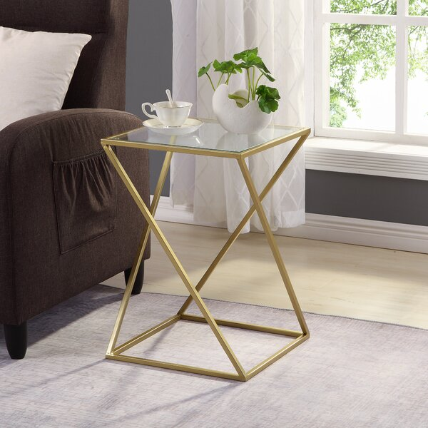 Held Geometric End Table by Mercer41