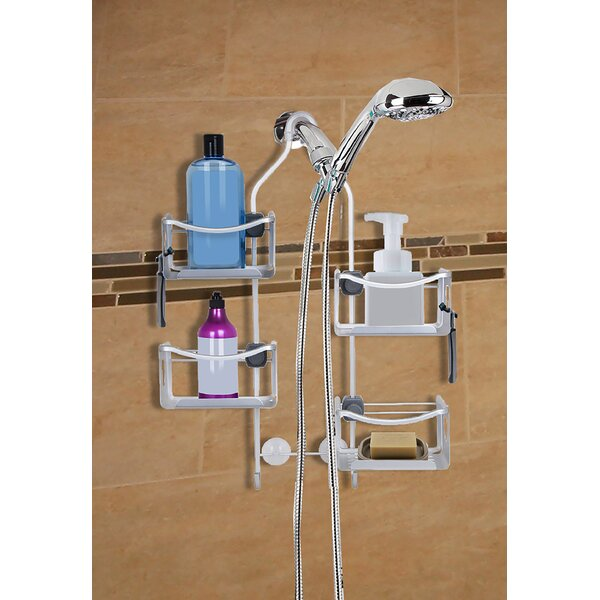 Bilodeau Expandable Rustproof Shower Caddy by Rebrilliant
