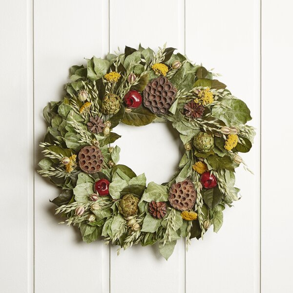 22 Artichoke and Lotus Wreath by Birch Lane™