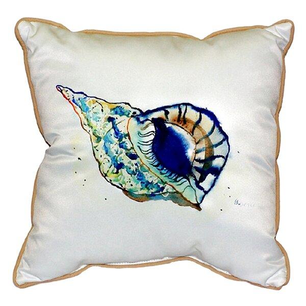 Shell Indoor/Outdoor Throw Pillow