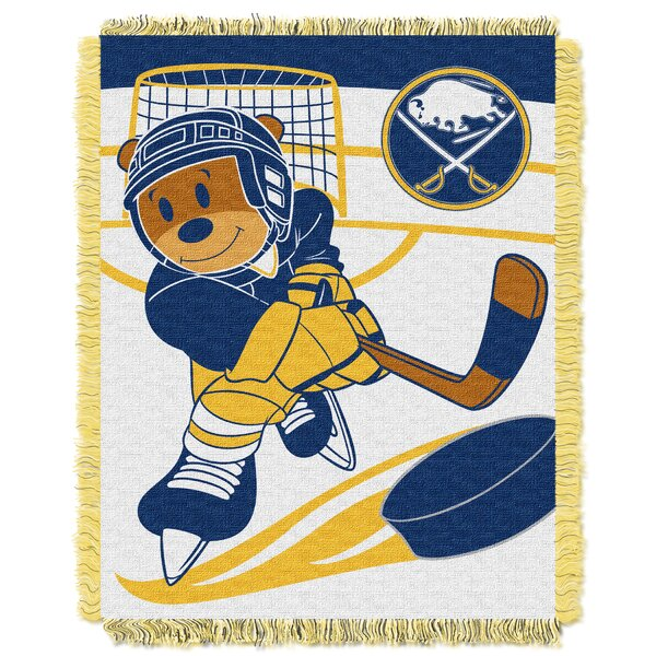 NHL Sabres Baby Woven Throw Blanket by Northwest Co.