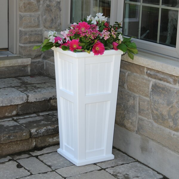 Cape Cod Self-Watering Plastic Pot Planter by Mayne Inc.