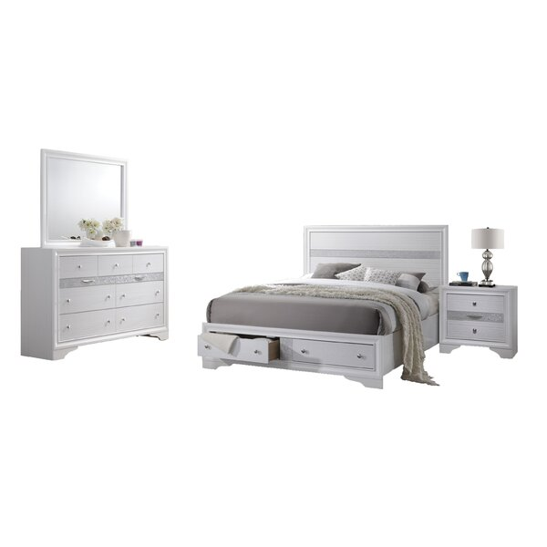 Smedley Standard 4 Piece Bedroom Set by House of Hampton