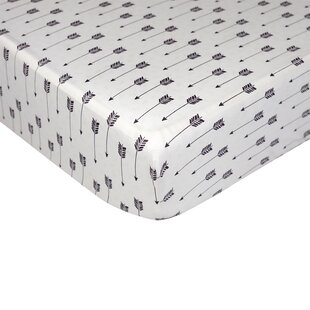 Price comparison Woods Arrow Print Fitted Sheet ByLolli Living