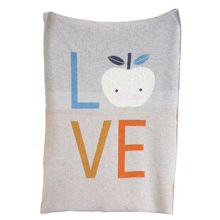 Reviews Scher Cotton Knit Love Blanket ByHarriet Bee