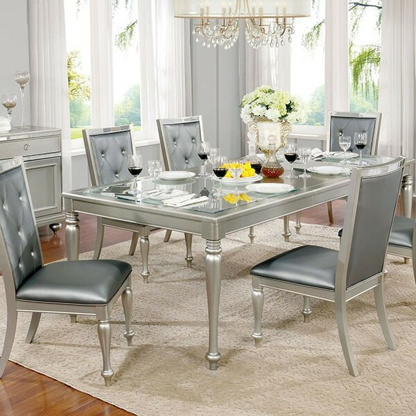 Lindsay 7 Piece Drop Leaf Dining Set by Rosdorf Park
