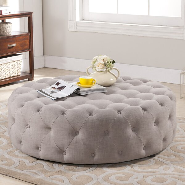 Baxton Studio Cardiff Cocktail Ottoman by Wholesale Interiors